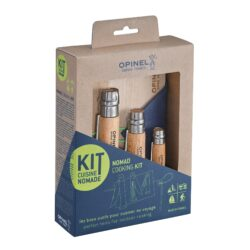 Image of the packaged Opinel Nomad Cuisine Kit