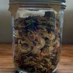 Image of a jar of Hearty Wild Rice Soup mix