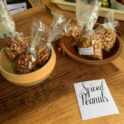 Image of Spiced Peanuts on display