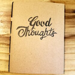 Image of Good Thoughts / Bad Thoughts notebook