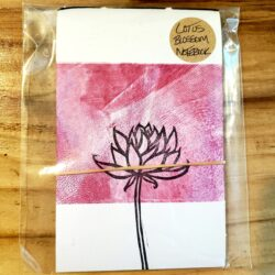 Image of Lotus Blossom Notebook