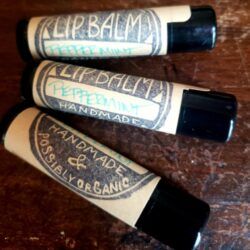 Image of tubes of Peppermint Lip Balm