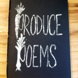 Image of the cover of the Produce Poems notebook
