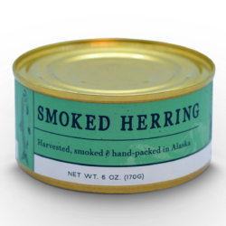 Image of a can of Wildfish Cannery Smoked Herring