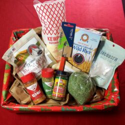 Image showing the contents of the Home Chef Gift Basket