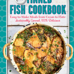 Image of the cover of the book Tinned Fish Cookbook, by Bart Van Olphen