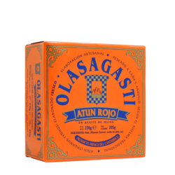 Image of the front of the package of Olasagasti Atun Rojo (Bluefin)