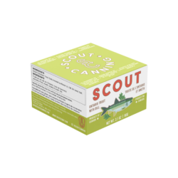 Image of the front of the package of Scout Ontario Trout with Dill