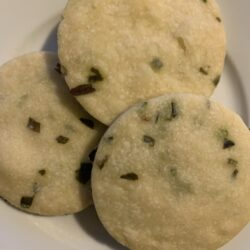 Image of Savory Shortbread with Chive