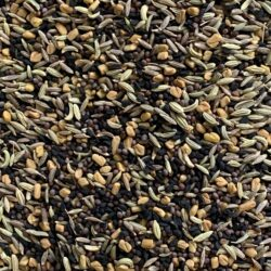 Image of the five seed blend that is Panch Phoron.