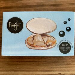 Image of the front of a package of Bogar White Clams in Brine 20/30